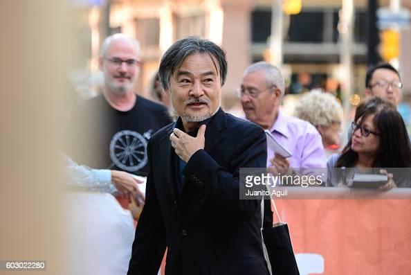Director Kiyoshi Kurosawa attends the premiere of 'Daguerrotype' during the 2016 Toronto International Film Festival at Winter Garden Theatre on...