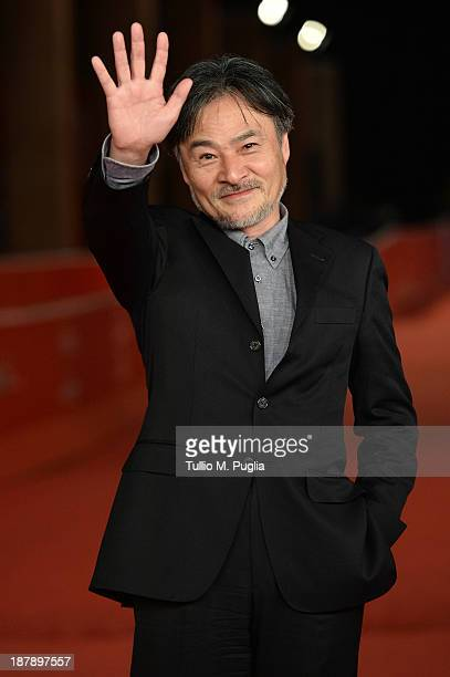 Director Kiyoshi Kurosawa attends the 'Seventh Code' Premiere during The 8th Rome Film Festival at Auditorium Parco Della Musica on November 13 2013...