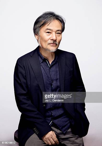 Director Kiyoshi Kurosawa from the film Daguerrotype poses for a portraits at the Toronto International Film Festival for Los Angeles Times on...
