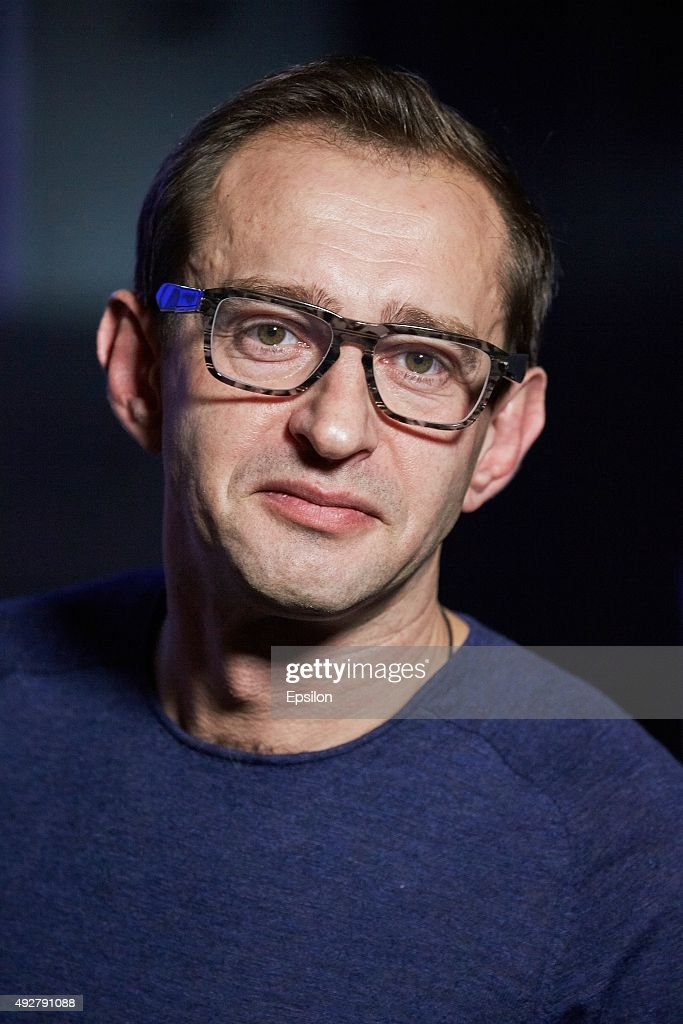 Director <a gi-track='captionPersonalityLinkClicked' href=/galleries/search?phrase=Konstantin+Khabensky&family=editorial&specificpeople=2557206 ng-click='$event.stopPropagation()'>Konstantin Khabensky</a> during a dress rehearsal of musical 'Mowgli's Generation' at the Kremlin Palace on October 14, 2015 in Moscow, Russia.