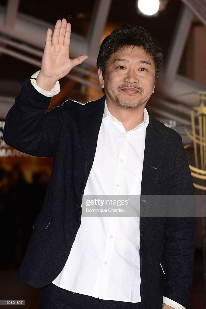 Director Kore-Eda Hirokazu attends the 'Like Father, Like Son' premiere during the 13th Marrakech International Film Festival on December 1, 2013 in Marrakech, Morocco.