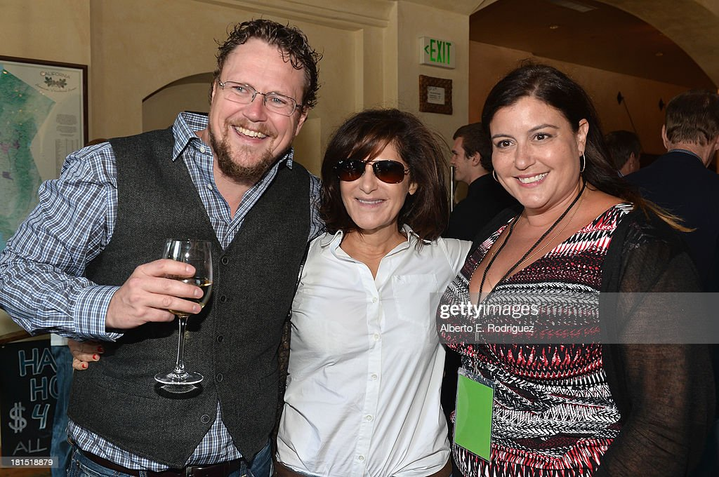 Director Kris Pearn, Co Chairman of Sony Pictures Entertainment <a gi-track='captionPersonalityLinkClicked' href=/galleries/search?phrase=Amy+Pascal&family=editorial&specificpeople=207083 ng-click='$event.stopPropagation()'>Amy Pascal</a> and Sony Pictures Animations' Michelle Raimo Kouyate attend the after party for the premiere of Columbia Pictures and Sony Pictures Animation's 'Cloudy With A Chance Of Meatballs 2' at The Napa Valley Grille on September 21, 2013 in Westwood, California.