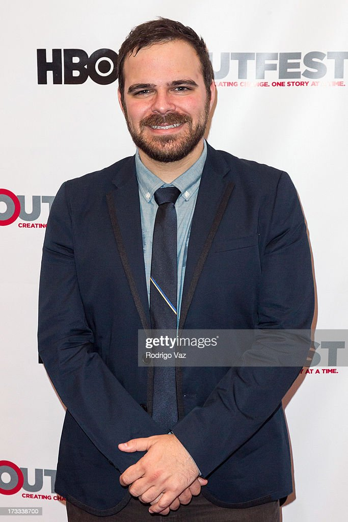 Director Kyle Patick Alvarez arrives at the 13th Annual Outfest Opening Night Gala Of 'C.O.G.' at Orpheum Theatre on July 11, 2013 in Los Angeles, California.