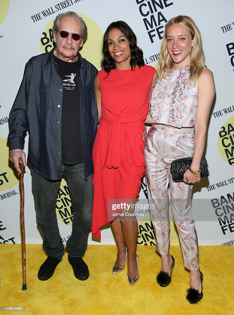 Director Larry Clark and actors Rosario Dawson and Chloe Sevigny attend the 'Kids' 20th Anniversary Screening at BAMcinemaFest 2015 at BAM Peter Jay Sharp Building on June 25, 2015 in New York City.
