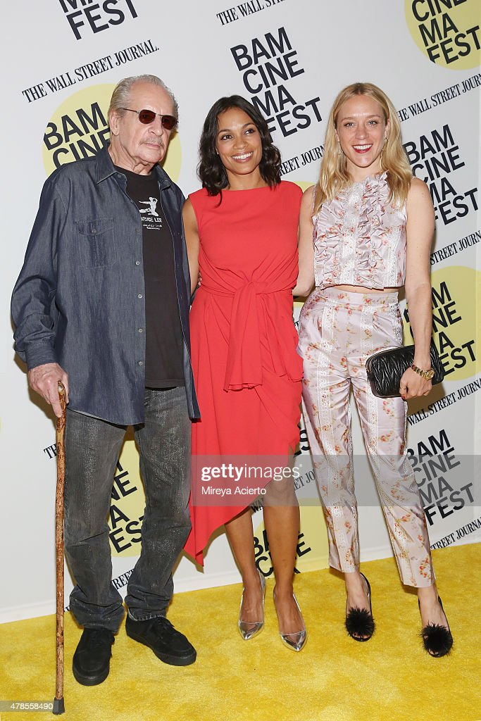 Director Larry Clark and actresses Rosario Dawson and Chloe Sevigny attend the 'Kids' 20th Anniversary Screening during BAMcinemaFest 2015 at BAM Peter Jay Sharp Building on June 25, 2015 in New York City.