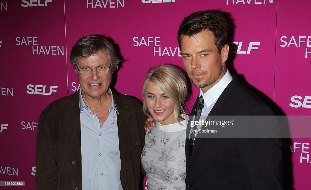 Director <a gi-track='captionPersonalityLinkClicked' href=/galleries/search?phrase=Lasse+Hallstrom&family=editorial&specificpeople=768265 ng-click='$event.stopPropagation()'>Lasse Hallstrom</a>, actors <a gi-track='captionPersonalityLinkClicked' href=/galleries/search?phrase=Julianne+Hough&family=editorial&specificpeople=4237560 ng-click='$event.stopPropagation()'>Julianne Hough</a> and <a gi-track='captionPersonalityLinkClicked' href=/galleries/search?phrase=Josh+Duhamel&family=editorial&specificpeople=208740 ng-click='$event.stopPropagation()'>Josh Duhamel</a> attend the 'Safe Haven' premiere at Landmark's Sunshine Cinema on February 11, 2013 in New York City.