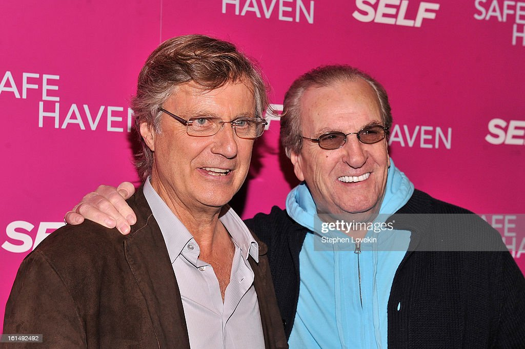 Director <a gi-track='captionPersonalityLinkClicked' href=/galleries/search?phrase=Lasse+Hallstrom&family=editorial&specificpeople=768265 ng-click='$event.stopPropagation()'>Lasse Hallstrom</a> (L) and actor <a gi-track='captionPersonalityLinkClicked' href=/galleries/search?phrase=Danny+Aiello&family=editorial&specificpeople=213062 ng-click='$event.stopPropagation()'>Danny Aiello</a> attend SELF Magazine and Relativity Media's special New York screening of 'Safe Haven' at Landmark Theatres Sunshine Cinema on February 11, 2013 in New York City.