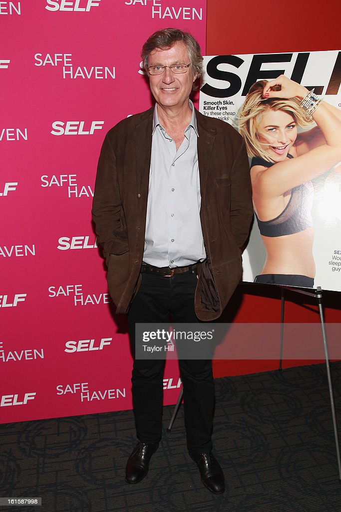 Director <a gi-track='captionPersonalityLinkClicked' href=/galleries/search?phrase=Lasse+Hallstrom&family=editorial&specificpeople=768265 ng-click='$event.stopPropagation()'>Lasse Hallstrom</a> attends a New York screening of 'Safe Haven' at Landmark Sunshine Cinema on February 11, 2013 in New York City.