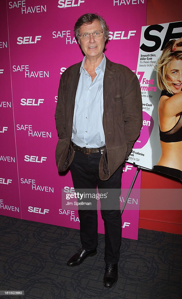 Director <a gi-track='captionPersonalityLinkClicked' href=/galleries/search?phrase=Lasse+Hallstrom&family=editorial&specificpeople=768265 ng-click='$event.stopPropagation()'>Lasse Hallstrom</a> attends the 'Safe Haven' premiere at Landmark's Sunshine Cinema on February 11, 2013 in New York City.