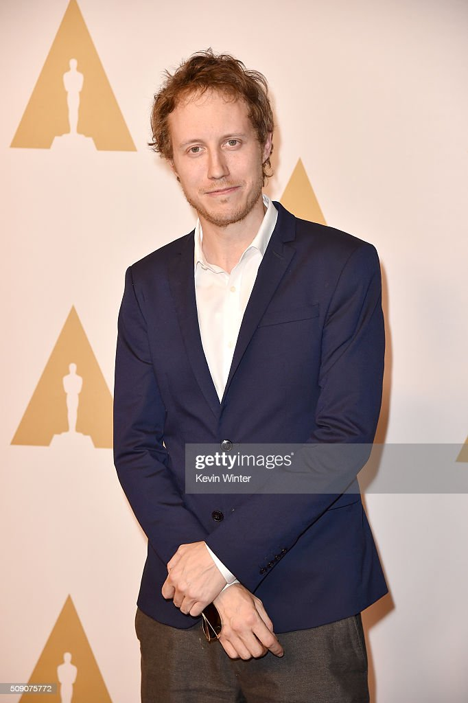 Director Laszlo Nemes attends the 88th Annual Academy Awards nominee luncheon on February 8, 2016 in Beverly Hills, California.