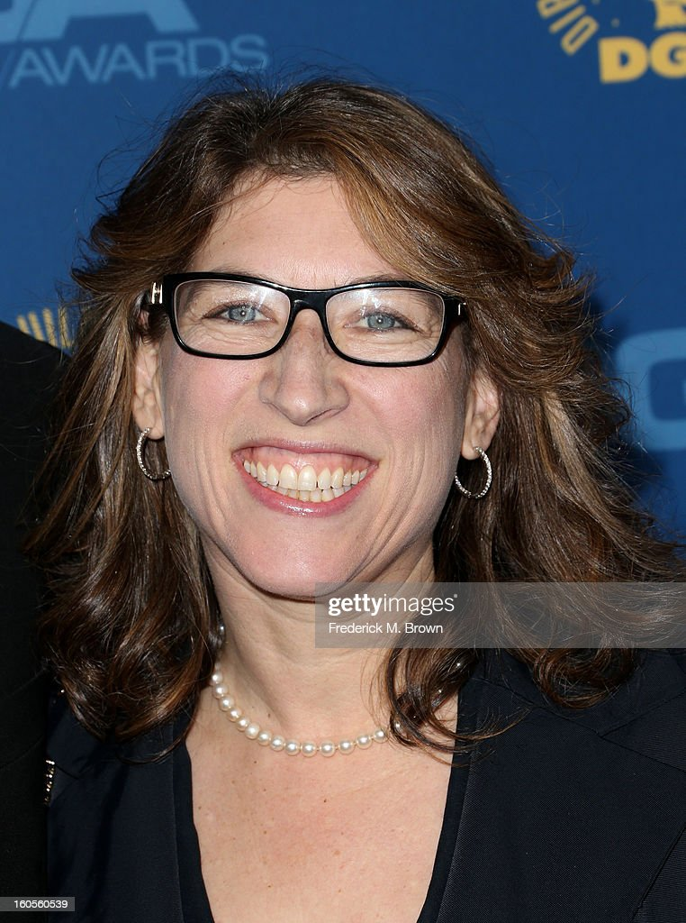 Director Lauren Greenfield attends the 65th Annual Directors Guild Of America Awards at Ray Dolby Ballroom at Hollywood & Highland on February 2, 2013 in Los Angeles, California.