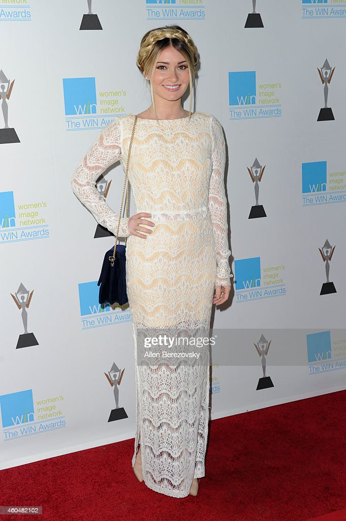 Director Lauren Paul arrives at Women's Image Network's 16th annual Women's Image Awards at Beverly Hills Women's Club on December 14 2014 in Beverly...