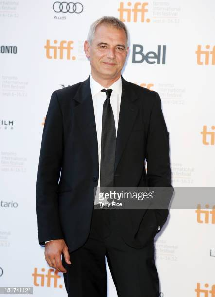 Director Laurent Cantet attends the 'Foxfire Confessions Of A Girl Gang' Premiere during the 2012 Toronto International Film Festival at the Ryerson...