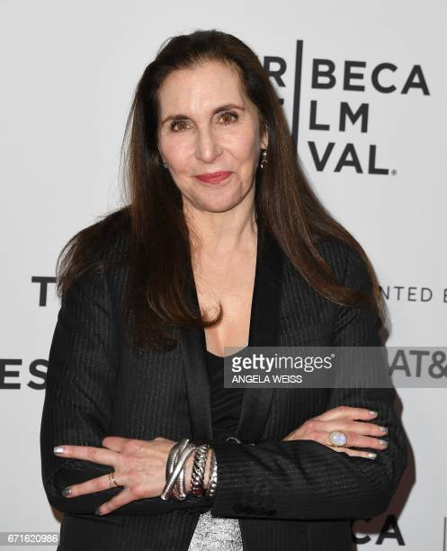 Director Laurie Simmons attends the 'My Art' premiere during 2017 Tribeca Film Festival at Cinepolis Chelsea on April 22 2017 in New York City / AFP...