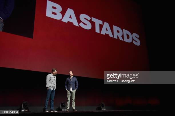 """Director Lawrence Sher and actor Ed Helms speak onstage at CinemaCon 2017 Warner Bros Pictures Invites You to """"The Big Picture"""" an Exclusive..."""