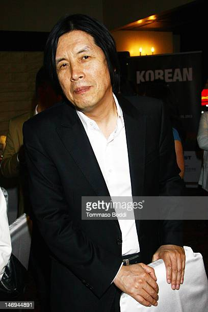 Director Lee Changdong attends the Look East Korean Film Festival Opening Ceremony held at the Roosevelt Hotel on June 23 2012 in Hollywood California