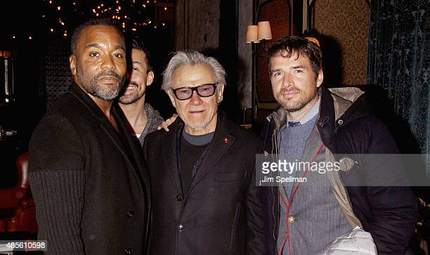 Director Lee Daniels actors Harvey Keitel and Matthew Settle attend a screening of Disney's 'Cinderella' hosted by The Cinema Society and Stuart...