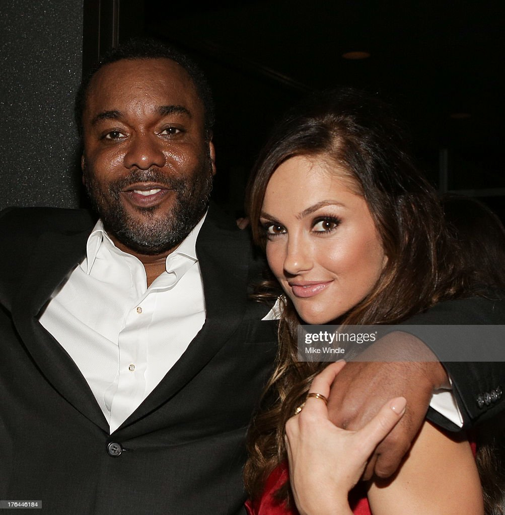 Director Lee Daniels (L) and actress Minka Kelly attend the after party for LEE DANIELS' THE BUTLER Los Angeles premiere, hosted by TWC, Budweiser and FIJI Water, Purity Vodka and Stack Wines, held at the Ritz-Carlton on August 12, 2013 in Los Angeles, California.