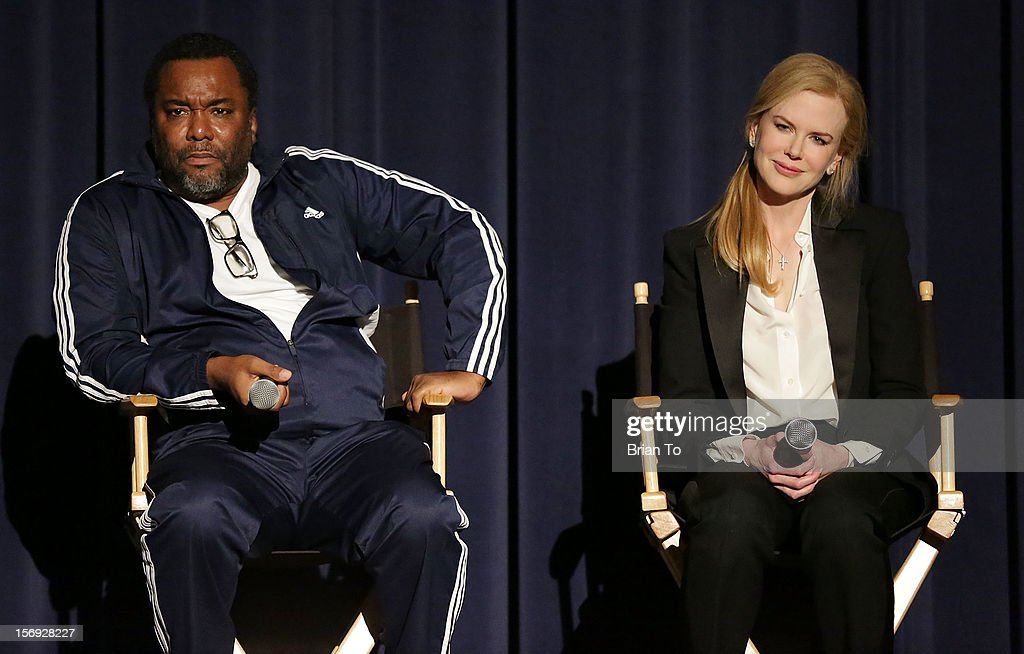 Director Lee Daniels and actress Nicole Kidman attend 'The Paperboy' Q&A with Nicole Kidman at Harmony Gold Theatre on November 24, 2012 in Los Angeles, California.