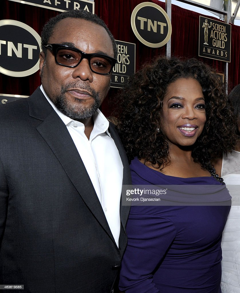 Director <a gi-track='captionPersonalityLinkClicked' href=/galleries/search?phrase=Lee+Daniels&family=editorial&specificpeople=209078 ng-click='$event.stopPropagation()'>Lee Daniels</a> (L) and actress-TV personality <a gi-track='captionPersonalityLinkClicked' href=/galleries/search?phrase=Oprah+Winfrey&family=editorial&specificpeople=171750 ng-click='$event.stopPropagation()'>Oprah Winfrey</a> attend the 20th Annual Screen Actors Guild Awards at The Shrine Auditorium on January 18, 2014 in Los Angeles, California.