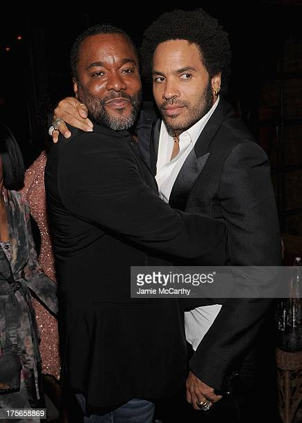 Director Lee Daniels and Lenny Kravitz attend Lee Daniels' 'The Butler' New York Premiere After Party at The Bowery Hotel on August 5 2013 in New...