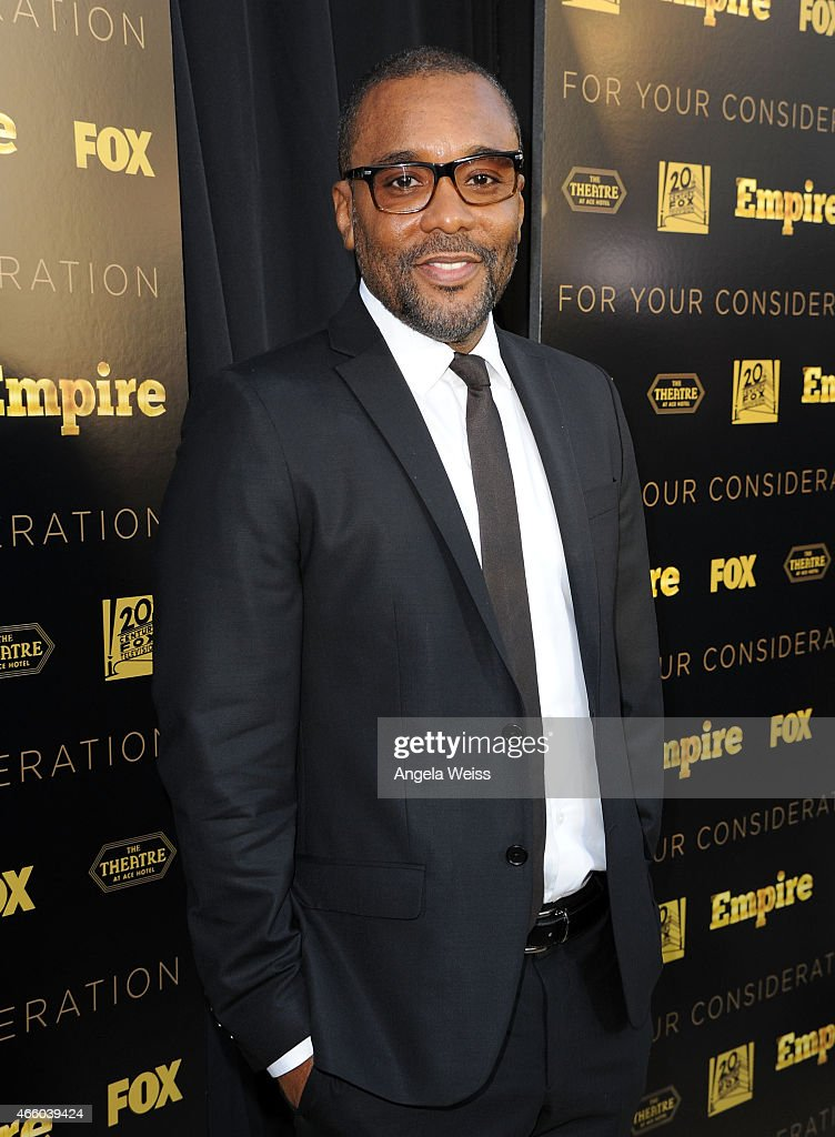 Director Lee Daniels arrives at Fox's 'Empire' ATAS Academy Event at The Theatre at The Ace Hotel on March 12 2015 in Los Angeles California