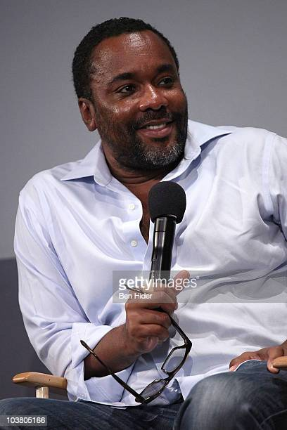Director Lee Daniels discusses new film 'Prince of Broadway' at the Apple Store Soho on September 2 2010 in New York City