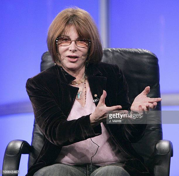 Director Lee Grant of 'Rome' during 2005 TCA HBO Networks Presentation at Beverly Hills Hilton Hotel in Beverly Hills California United States