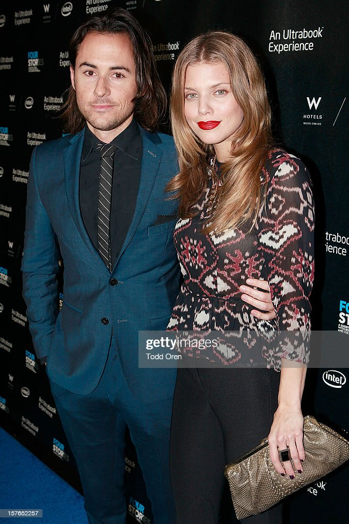 Director Lee Toland Kreiger and actress AnnaLynne McCord pose at the Intel and W Hotels present Four Stories Film Series at W Hotel Los Angeles - Westwood on December 4, 2012 in Westwood, California.
