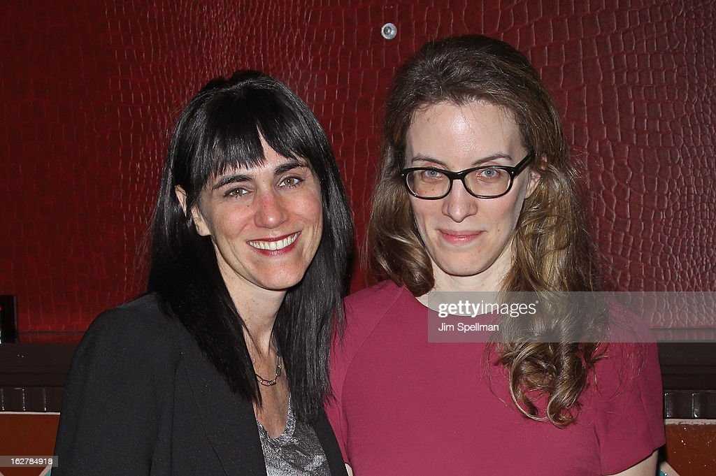 Director Leigh Silverman and playwright Liz Flahive attend 'The Madrid' Opening Night at Red Eye Grill on February 26, 2013 in New York City.