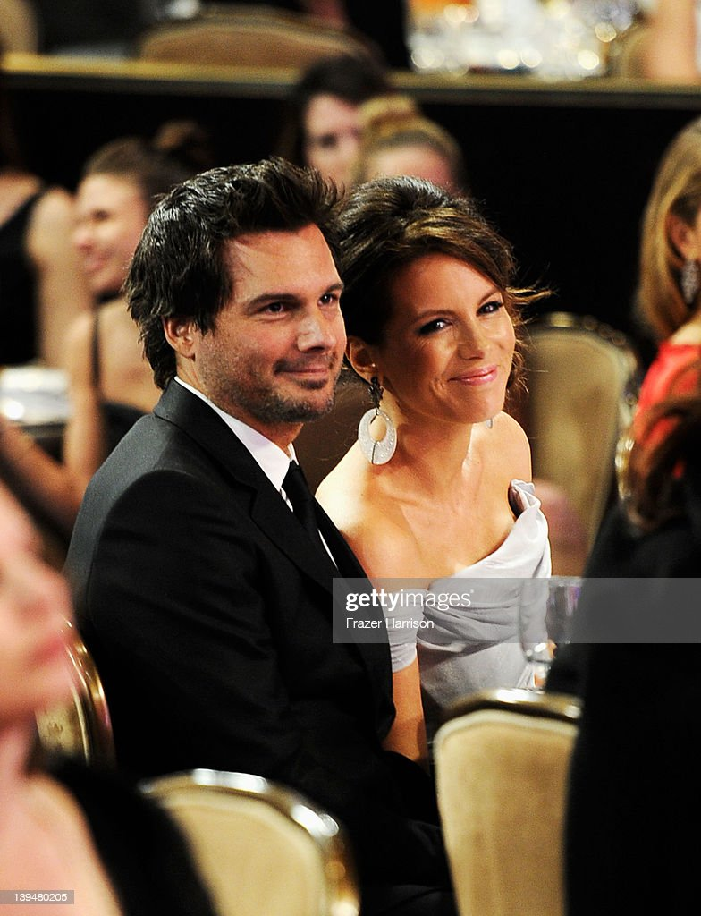 Director Len Wiseman and actress Kate Beckinsale attend the 14th Annual Costume Designers Guild Awards With Presenting Sponsor Lacoste held at The Beverly Hilton hotel on February 21, 2012 in Beverly Hills, California.