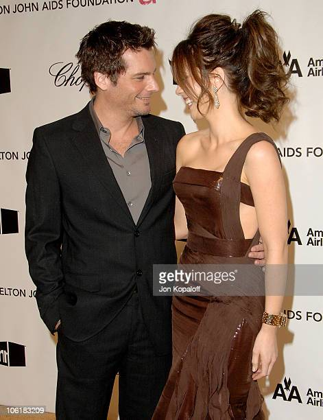 Director Len Wiseman and actress Kate Beckinsale attend the 16th Annual Elton John AIDS Foundation Oscar Party at the Pacific Design Center on...