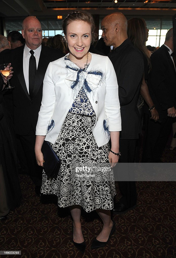 Director <a gi-track='captionPersonalityLinkClicked' href=/galleries/search?phrase=Lena+Dunham&family=editorial&specificpeople=5836535 ng-click='$event.stopPropagation()'>Lena Dunham</a> attends Lutheran Healthcare 130th Annual Dinner Dance at Pier Sixty at Chelsea Piers on May 18, 2013 in New York City.