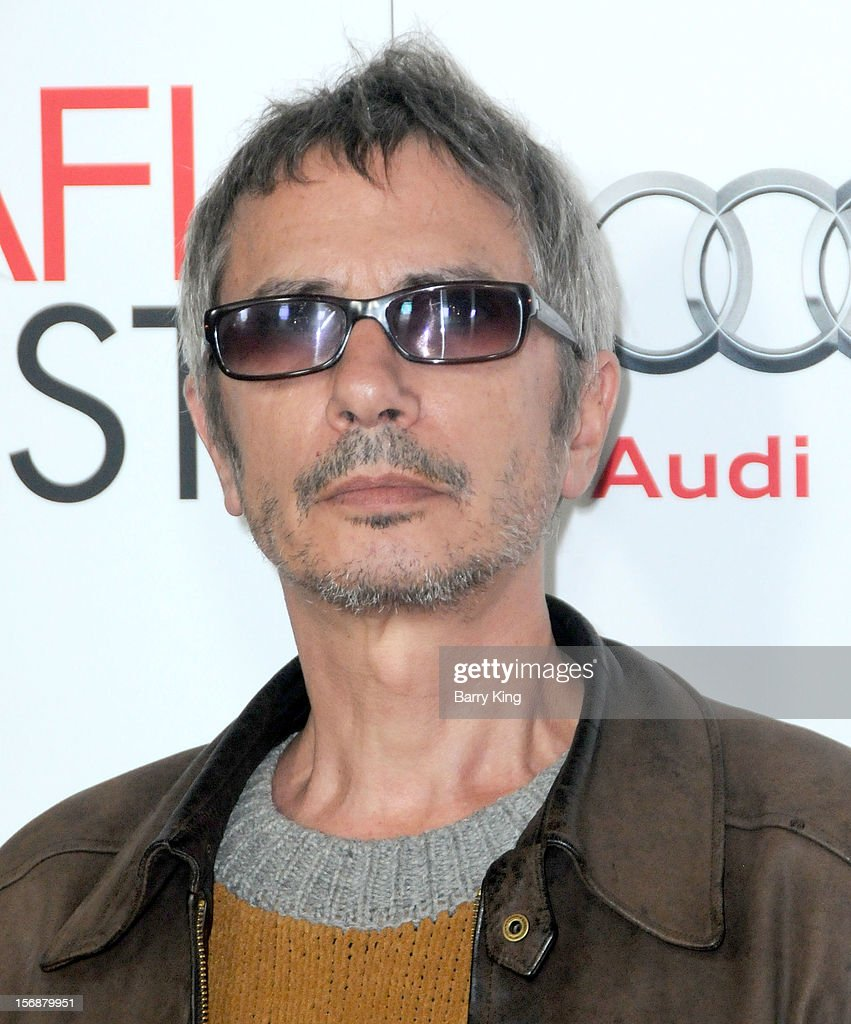 Director Leos Carax arrives to the 2012 AFI FEST 'Holy Motors' special screening held at Grauman's Chinese Theatre on November 3, 2012 in Hollyood, California.
