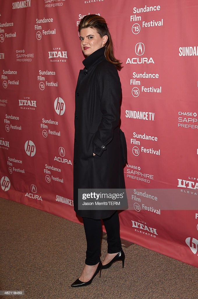 Director Leslye Headland attends the 'Sleeping With Other People' premiere during the 2015 Sundance Film Festival on January 24, 2015 in Park City, Utah.