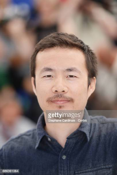 Director Li Ruijun attends the 'Walking Past The Future ' photocall during the 70th annual Cannes Film Festival at Palais des Festivals on May 21...