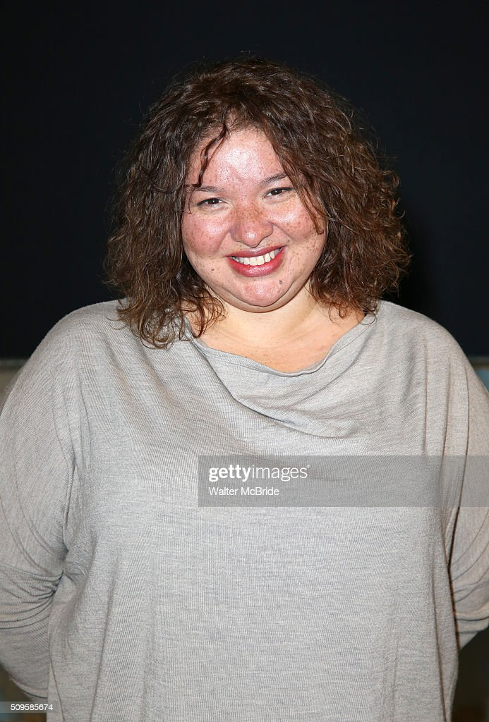 Director Liesl Tommy attends the meet and greet the all-female cast and creative team and launch of the 10,000 girls initiative of Broadway's 'Eclipsed' at the Golden Theatre on February 11, 2016 in New York City.