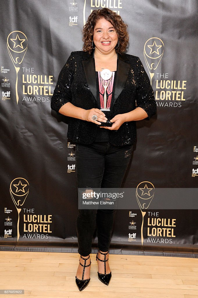 Director Liesl Tommy attends the press room for the 31st Annual Lucille Lortel Awards at NYU Skirball Center on May 1, 2016 in New York City.