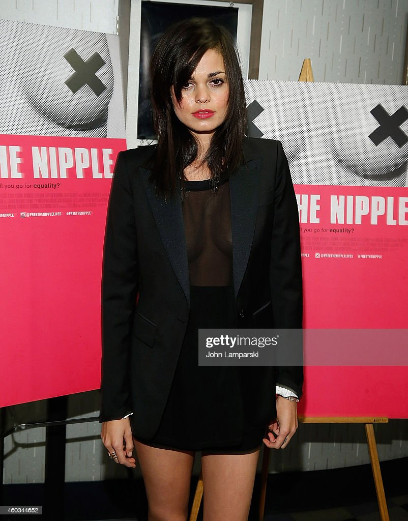 Director Lina Esco attends 'Free The Nipple' New York Premiere at IFC Center on December 11, 2014 in New York City.