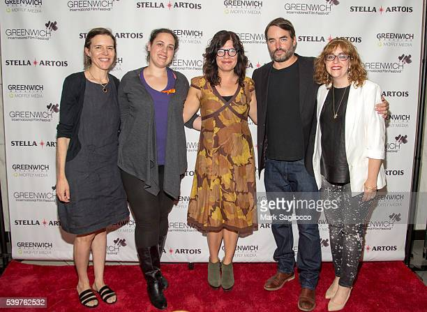 Director Lisa Robinson Rachel Langus Writer Annie J Howell Actor Chris Beetem and Janet Pierson attend the Closing Night Feature 'Claire in Motion'...