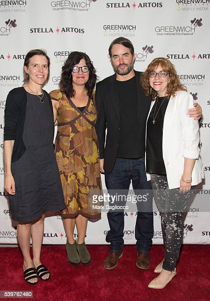Director Lisa Robinson Writer Annie J Howell Actor Chris Beetem and Janet Pierson attend the 2016 Greenwich International Film Festival Day 4 on June...