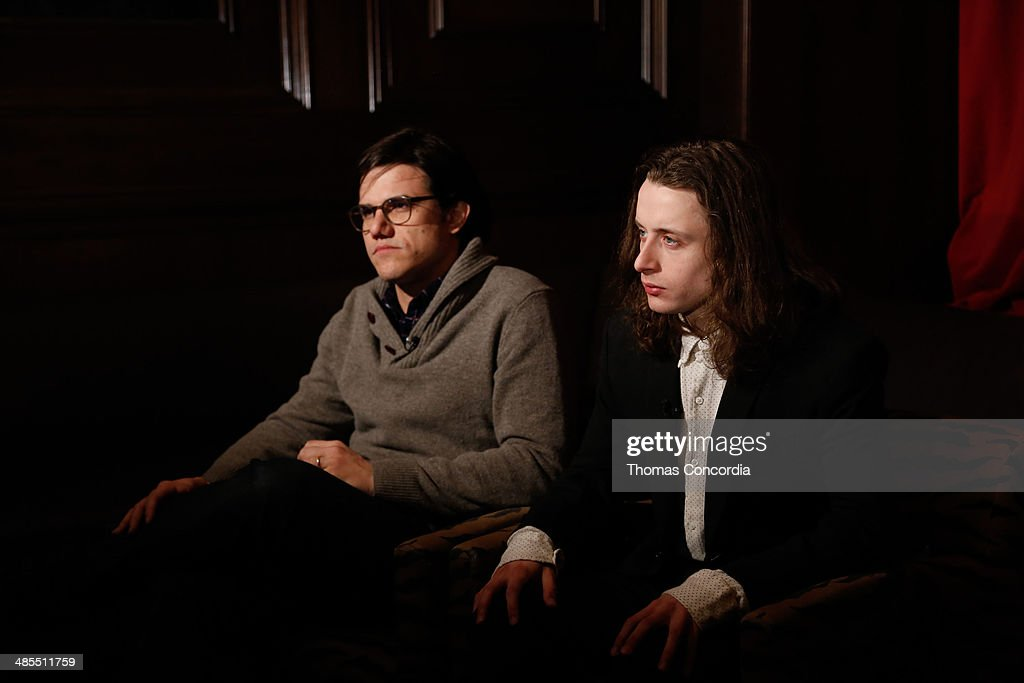Director Lou Howe and actor Rory Culkin attend Tribeca Press Day for the film 'Gabriel' at the Carlton Hotel on April 18, 2014 in New York City.