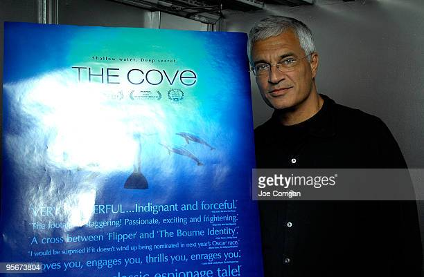 Director Louie Psihoyos attends a screening of 'The Cove' at Tribeca Cinemas on January 9 2010 in New York City