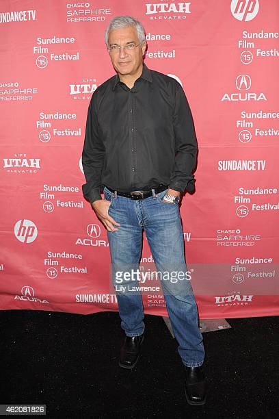 Director Louis Psihoyos attends the 'RACING EXTINCTION' Premiere at The Marc Theater on January 24 2015 in Park City Utah