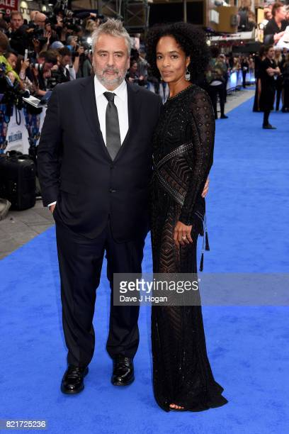 Director Luc Besson and producer Virginie Besson attend the European premiere of 'Valerian and The City of a Thousand Planets' at Cineworld London on...