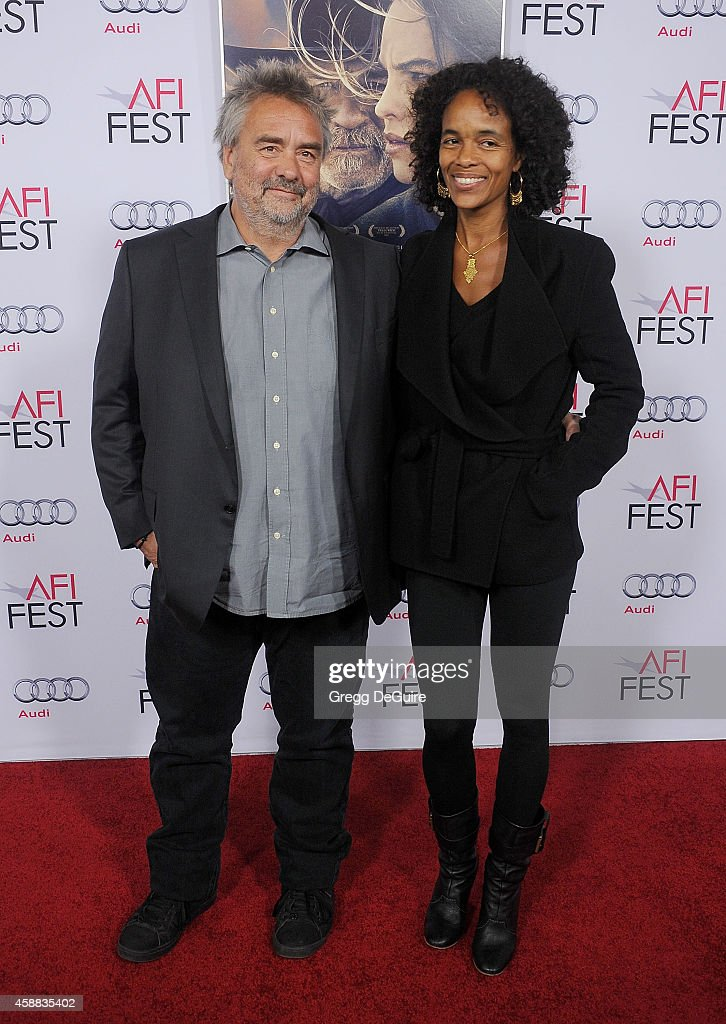 Director <a gi-track='captionPersonalityLinkClicked' href=/galleries/search?phrase=Luc+Besson&family=editorial&specificpeople=226803 ng-click='$event.stopPropagation()'>Luc Besson</a> and wife <a gi-track='captionPersonalityLinkClicked' href=/galleries/search?phrase=Virginie+Silla&family=editorial&specificpeople=4291594 ng-click='$event.stopPropagation()'>Virginie Silla</a> arrive at the AFI FEST 2014 Presented By Audi - 'The Homesman' Premiere at Dolby Theatre on November 11, 2014 in Hollywood, California.