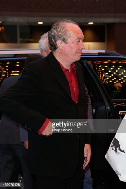 Director Luc Dardenne attends the 'Two Days One Night' premiere during the 2014 Toronto International Film Festival at Winter Garden Theatre on...