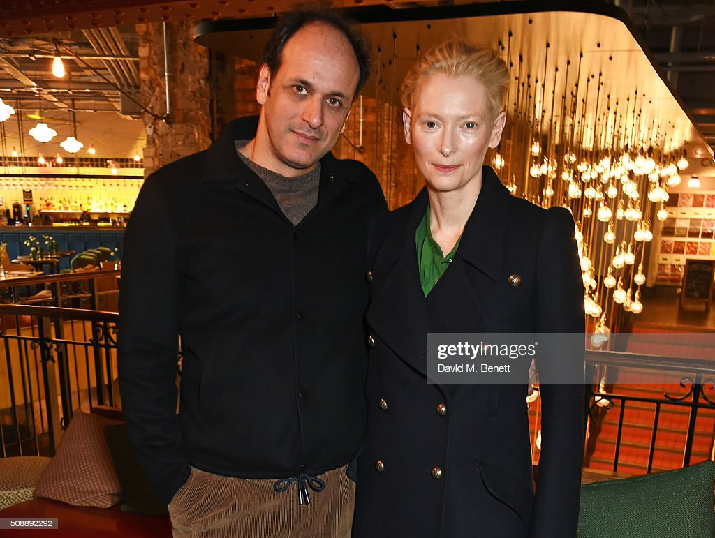 Director <a gi-track='captionPersonalityLinkClicked' href=/galleries/search?phrase=Luca+Guadagnino&family=editorial&specificpeople=2154878 ng-click='$event.stopPropagation()'>Luca Guadagnino</a> (L) and <a gi-track='captionPersonalityLinkClicked' href=/galleries/search?phrase=Tilda+Swinton&family=editorial&specificpeople=202991 ng-click='$event.stopPropagation()'>Tilda Swinton</a> attend a photocall for 'A Bigger Splash' at Picturehouse Central on February 7, 2016 in London, England.