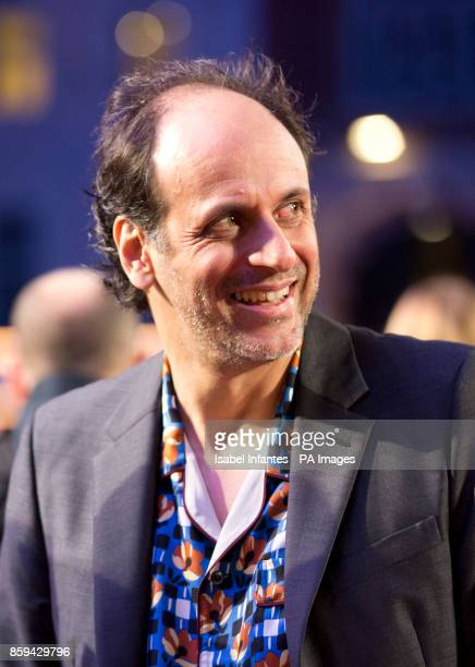 Director Luca Guadagnino attends the premiere of Call Me By My Name as part of the BFI London Film Festival at Odeon Leicester Square London