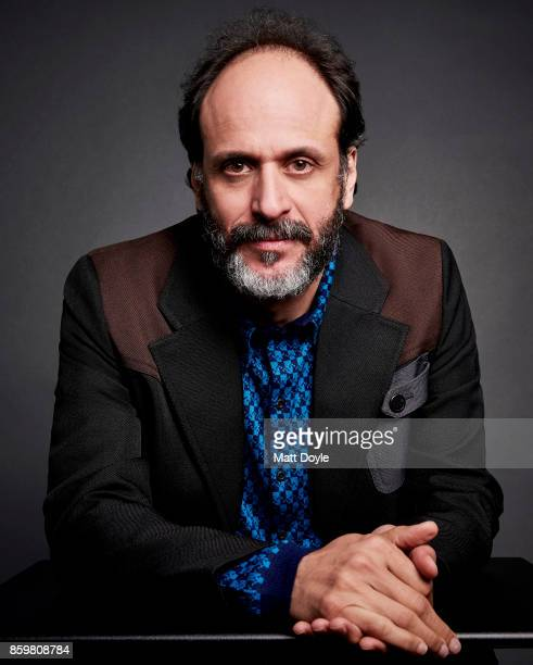 Director Luca Guadagnino of 'Call Me By Your Name' pose for a portrait at the 55th New York Film Festival on October 4 2017